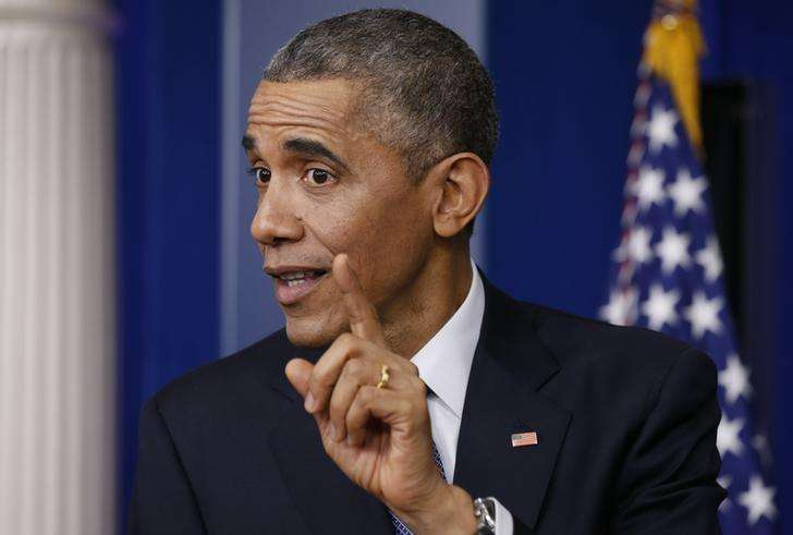 Presidente dos EUA Barack Obama concede entrevista na Casa Branca. 19/12/2014. Foto: Kevin Lamarque/Reuters