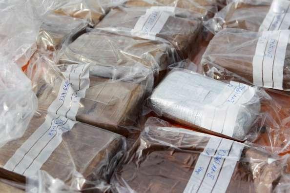 La Policía Nacional del Ecuador ha decomisado en 2014 cerca de 55 toneladas de diferentes drogas. Foto: Getty Images
