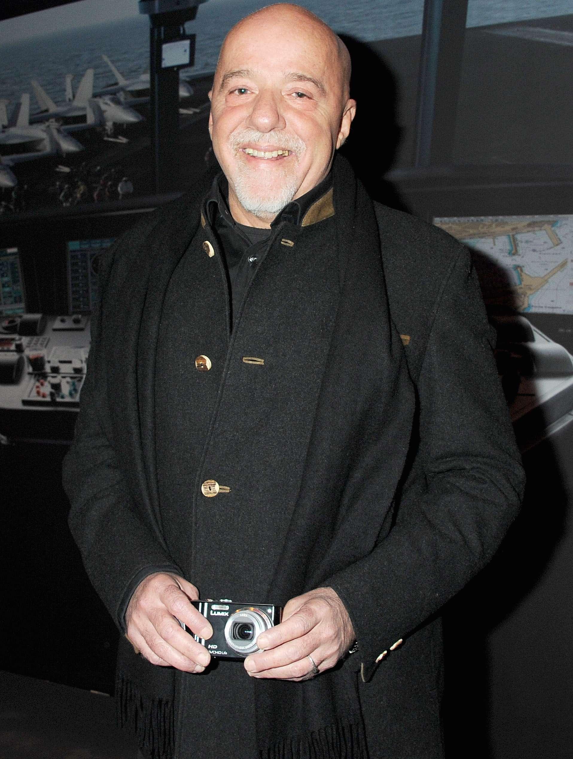 Paulo Coelho. Foto: Getty Images