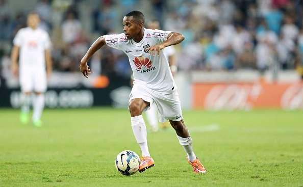 Robinho regresó hace unos meses a su país para incorporarse a su club 'mater': el Santos. Foto: Getty Images