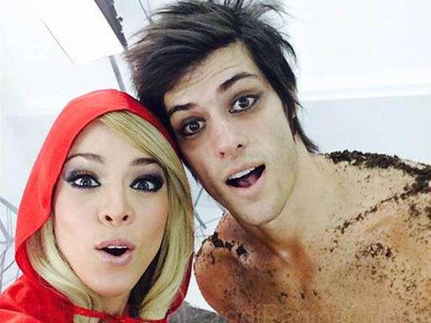 """Sheyla Rojas y Patricio Parodi de """"Esto es Guerra"""". Foto: Twitter"""