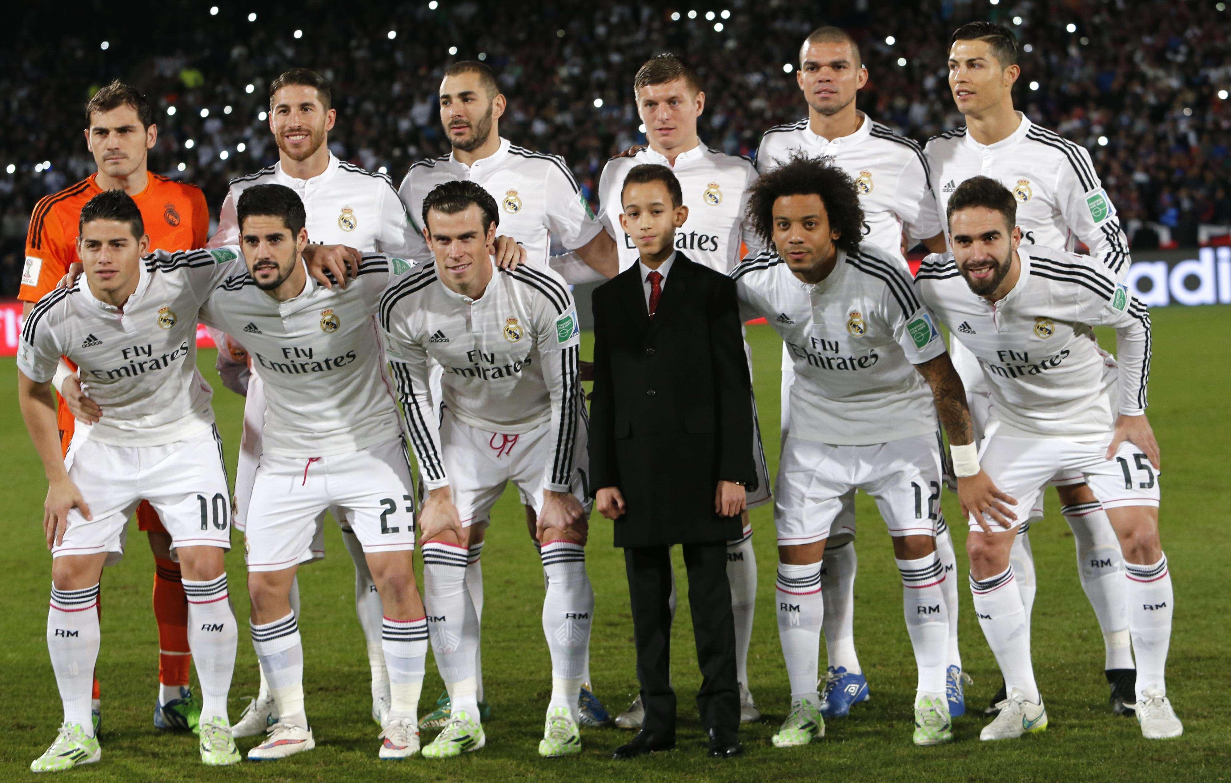 Real Madrid posa para foto antes de final Foto: Abdeljalli Bounhar/AP