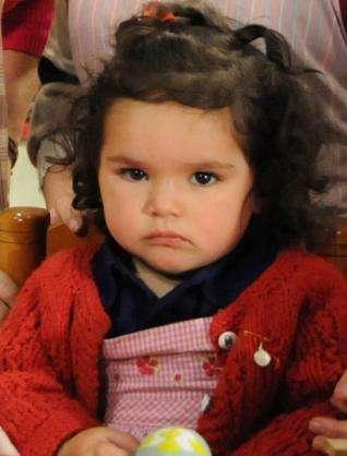Estrella Ortiz ha interpretado a Anita desde muy pequeña, y hemos visto cómo ha crecido en estos años. Su espontaneidad se ha ganado el corazón de todos, sobre todo cuando delata a sus familiares. Foto: Canal 13