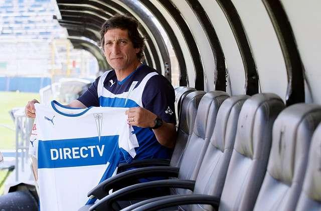 El nuevo entrenador de la UC Mario Salas Foto: Agencia UNO