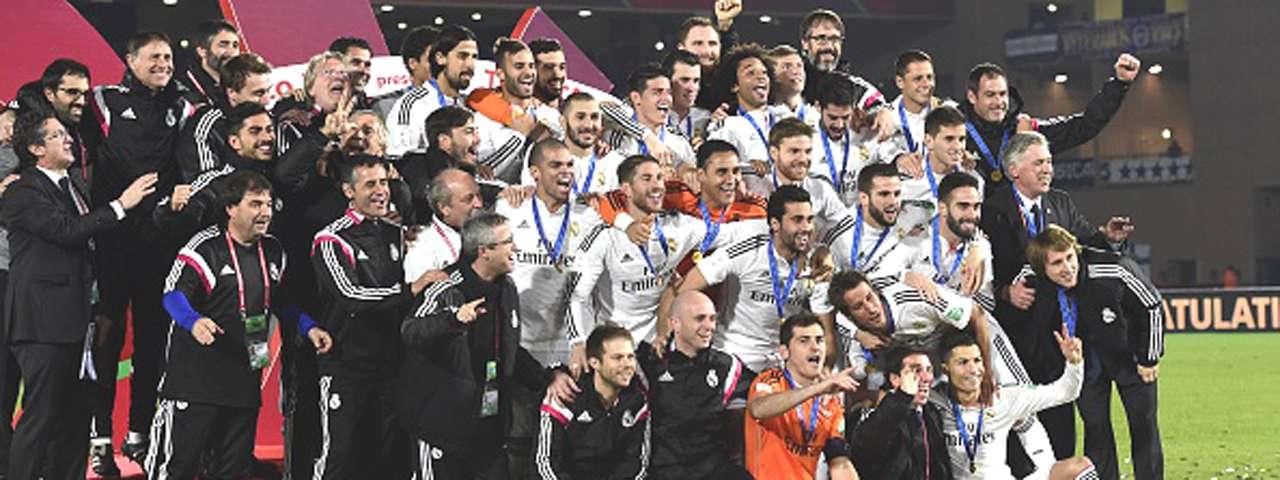 Chicharito campeón del mundial de clubes Foto: AFP