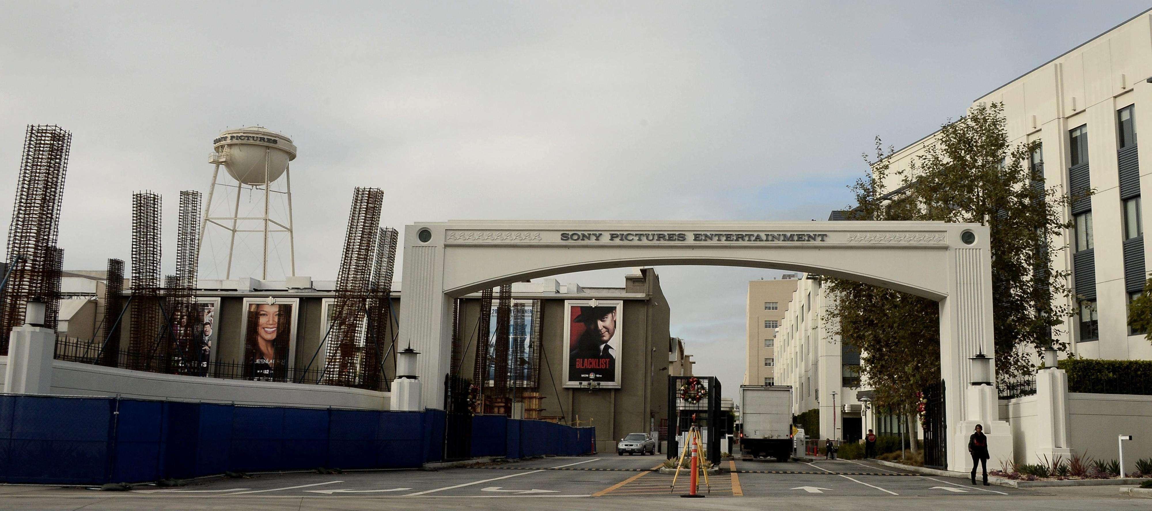 Entrada a los estudios de Sony Pictures Entertainment en Culver City (Estados Unidos). Foto: EFE en español