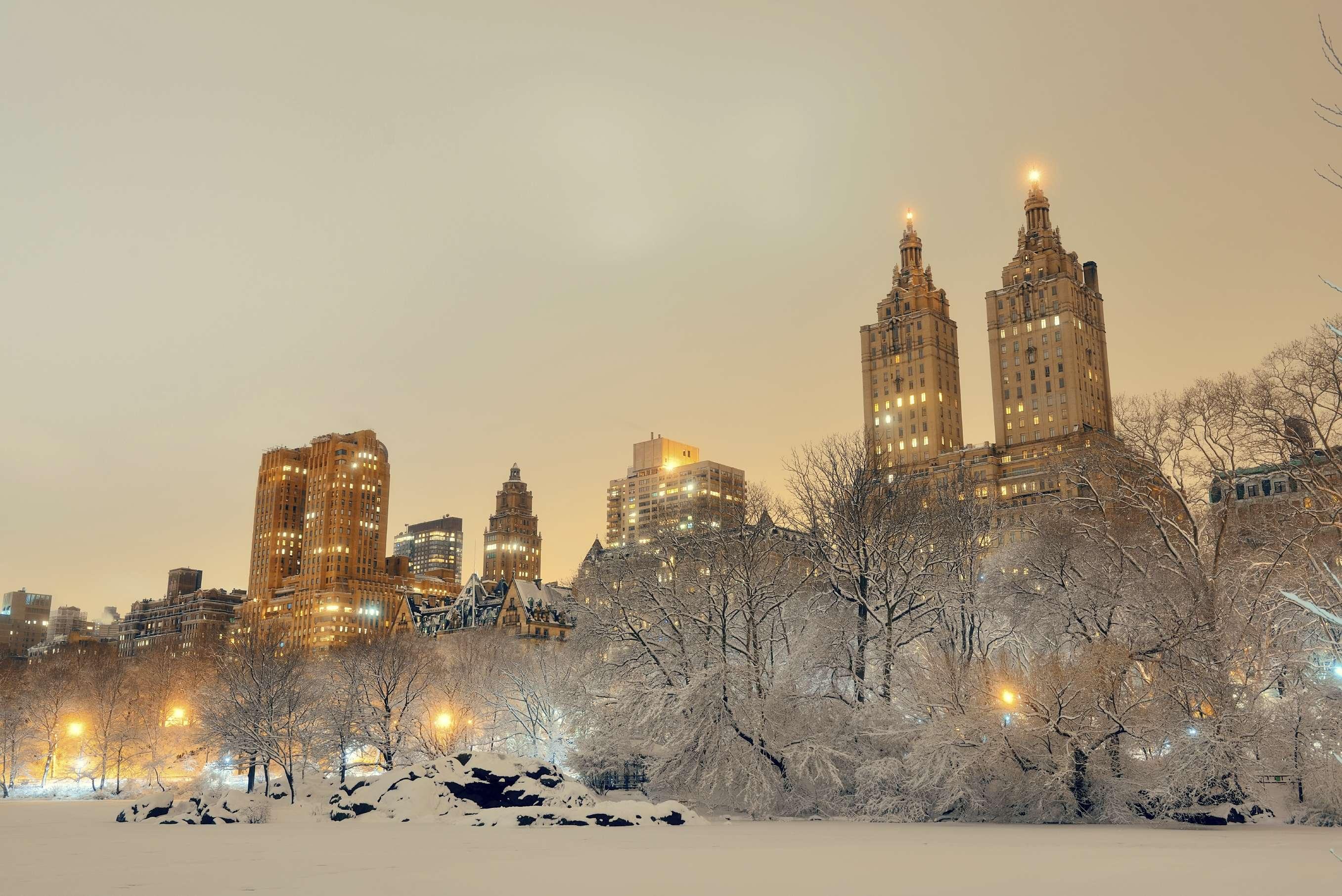 Nueva York es una de las ciudades más bonitas bajo la nieve. Foto: iStock