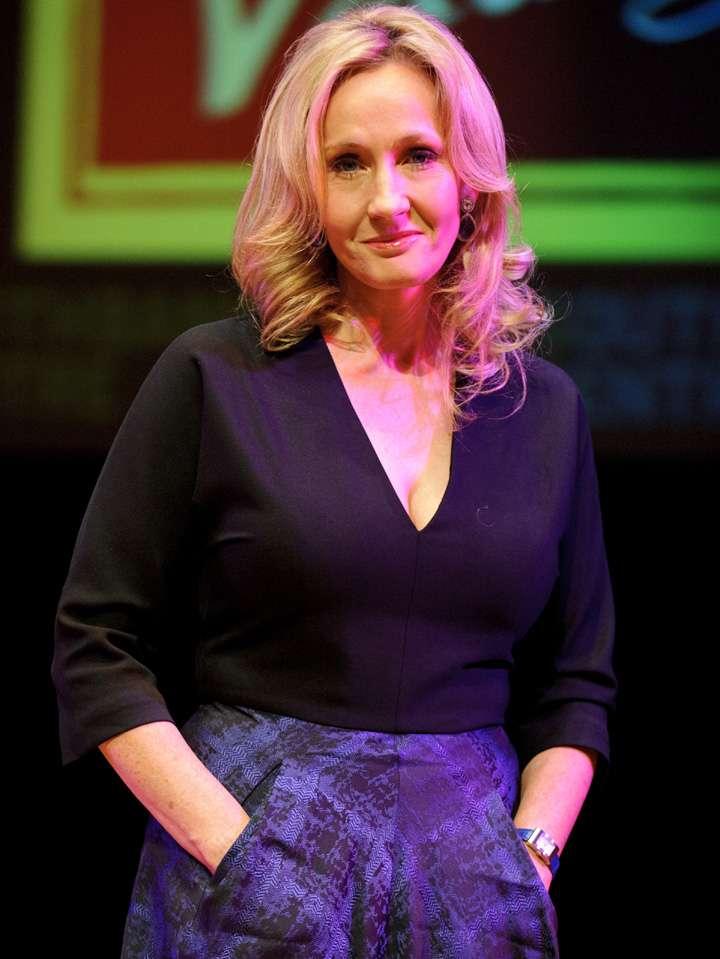 J.K. Rowling Foto: Getty Images
