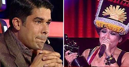 """Jerry Rivera de """"La Voz Perú"""" / Ruby Palomino. Foto: Instagram"""