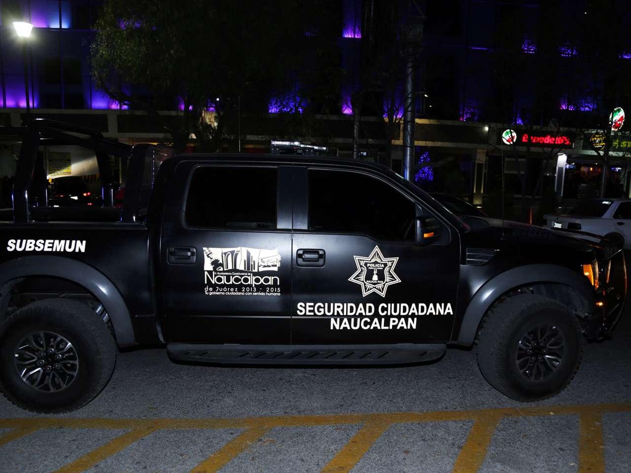 El Comisario Jorge Jiménez usa para transportarse una de las camionetas Raptor, asignadas en enero a elementos operativos Foto: Alejandro Velázquez/Reforma