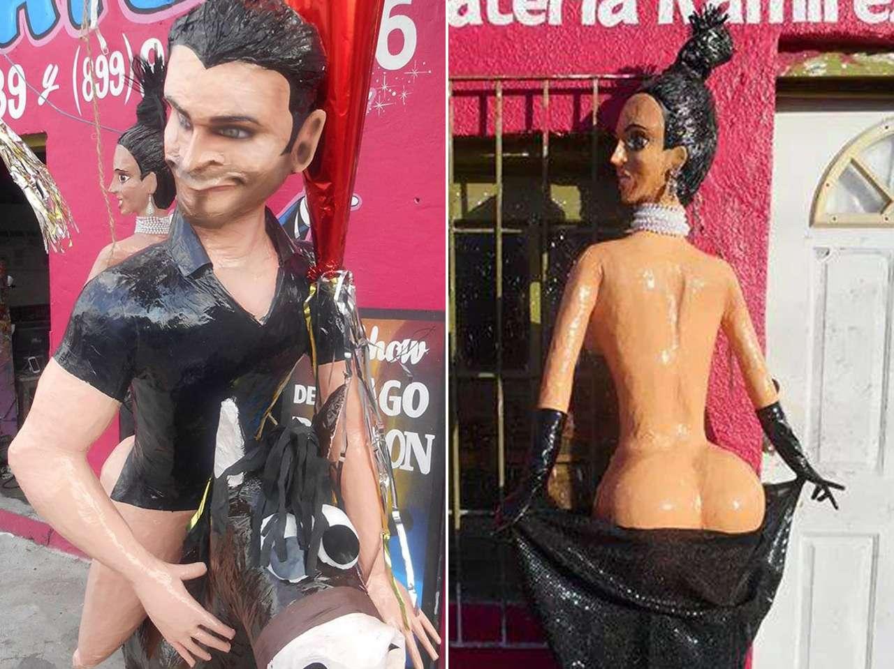 piñatas kim kardashian eliseo robles jr Foto: Facebook / Piñatería Ramírez