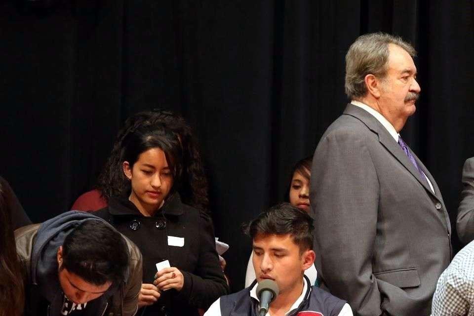El Subsecretario de Educación Superior, Fernando Serrano Migallón, renunció a su cargo en la Secretaría de Educación Pública (SEP) para presidir la comisión organizadora del Instituto Alfonso Reyes. Foto: Reforma