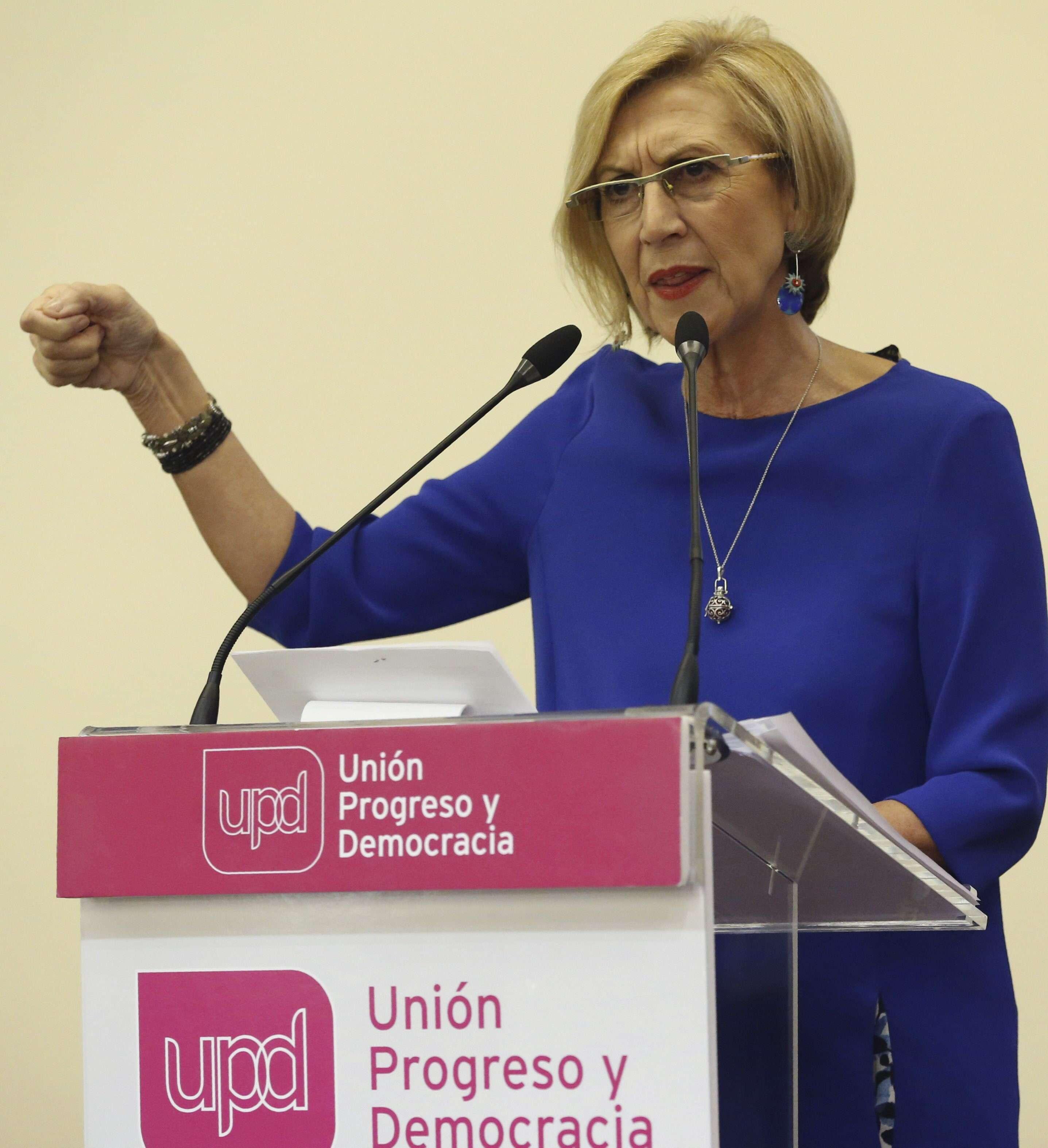 Rosa Díez. Foto: EFE en español