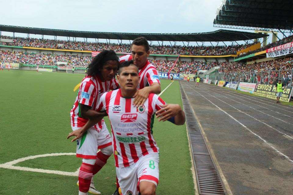 Diego Mayora fue el goleador de Sport Loreto en la exitosa campaña. Foto: Facebook Sport Loreto