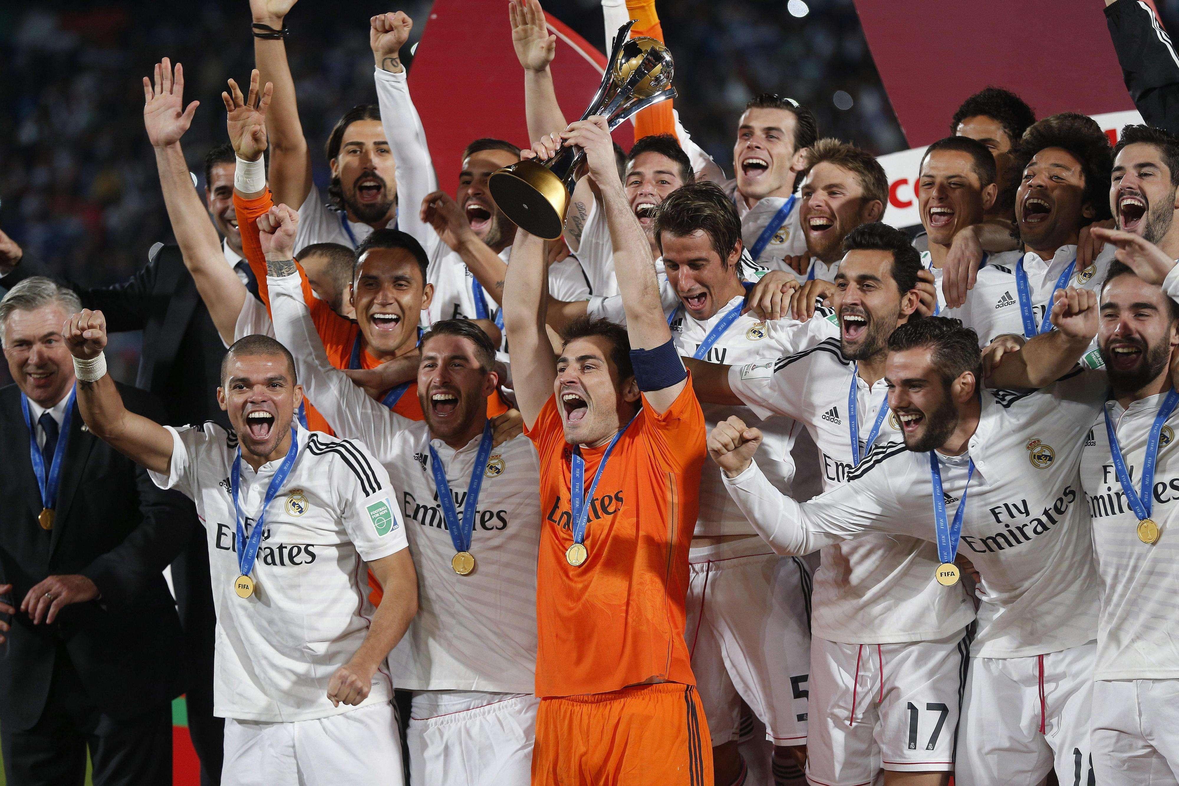 Real Madrid, campeón del Mundial de Clubes 2014. Foto: EFE en español