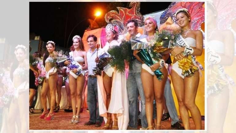 Un concurso de belleza en Chivilcoy. El Concejo Deliberante los prohibió. Foto: Gentileza  www.dechivilcoy.com.ar