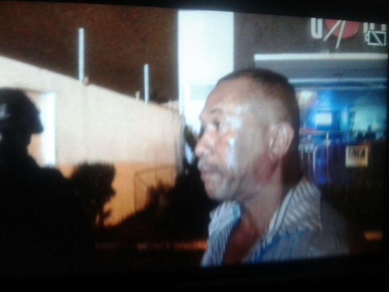Dorgival Luciano dos Santos se entregou após muitas horas de negociação Foto: Ascom/PM