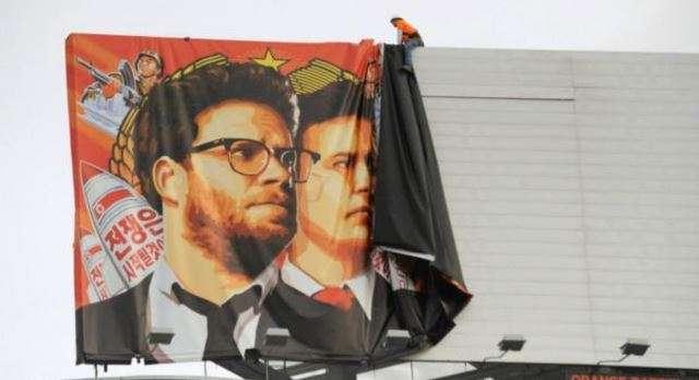 "La película ""The Interview"" trata de un complot para asesinar al líder norcoreano Kim Jong-Un. Foto: AFP en español"