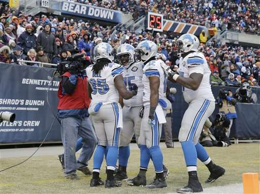 Detroit tuvo una buena temporada en la NFL. Foto: AP