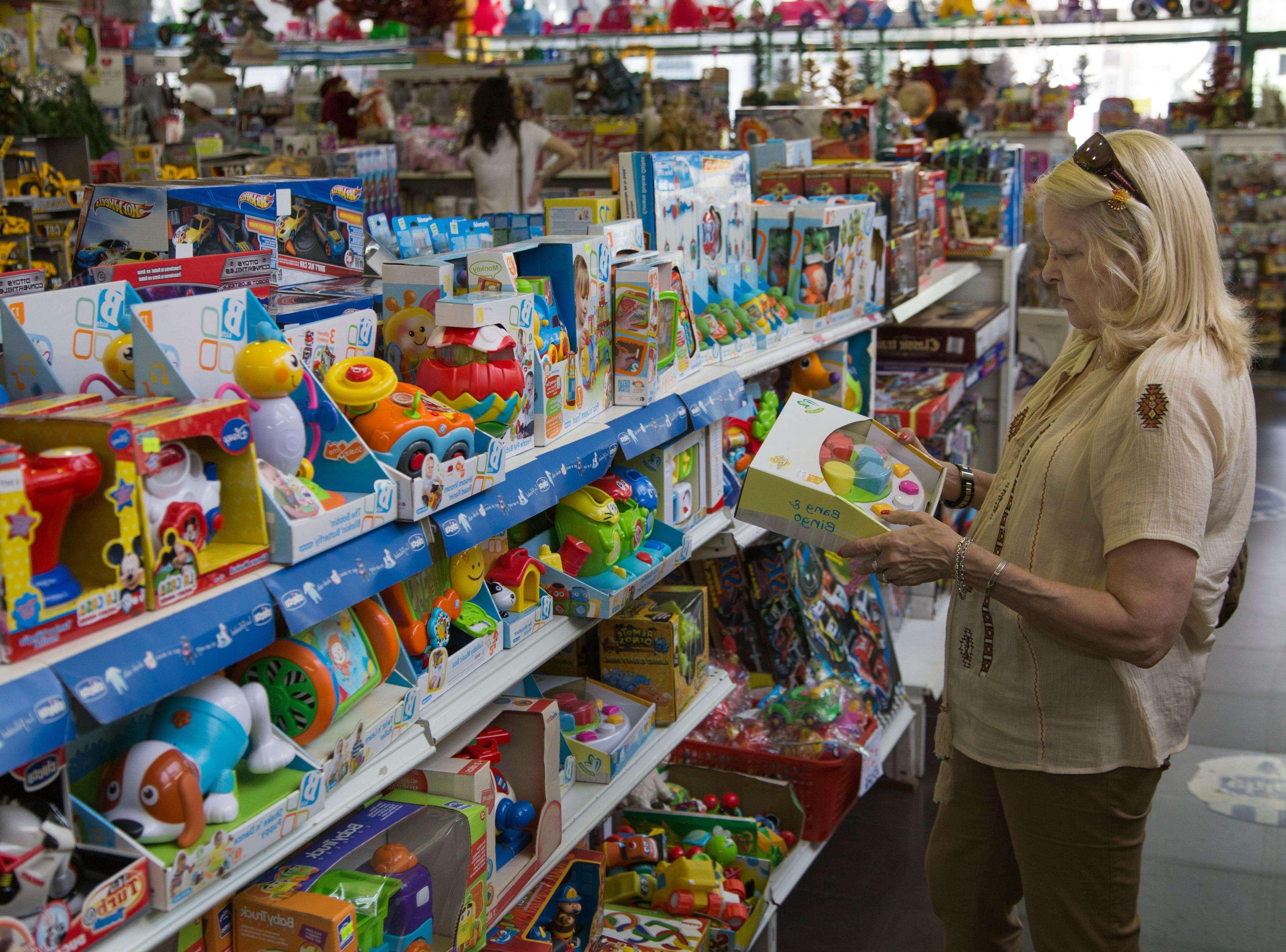 Navidad, época de compras. Foto: NA