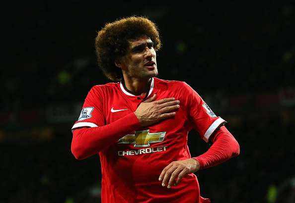 Fellaini ha marcado dos goles en la temporada. Foto: Getty Images