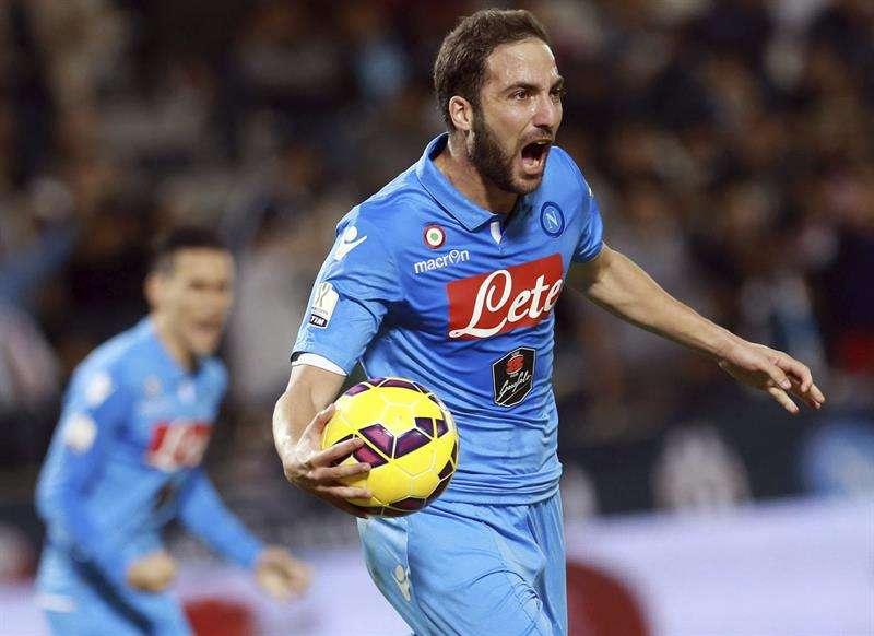 Arturo Vidal no pudo sumar el noveno título de su carrera al caer por 6-5 en los penales junto a la Juventus ante el Napoli luego de haber empatado 2-2, con alargue incluido, en la final de la Supercopa de Italia jugada en Doha, Qatar. Foto: EFE en español