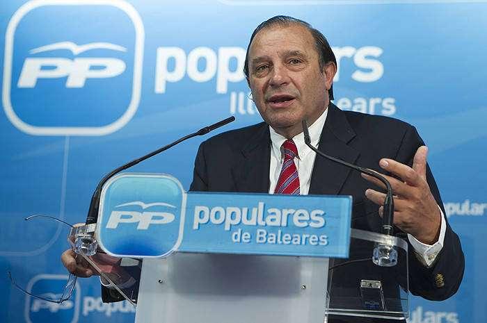 El portavoz de Economía del PP en el Congreso, Vicente Martínez Pujalte. Foto: EFE en español