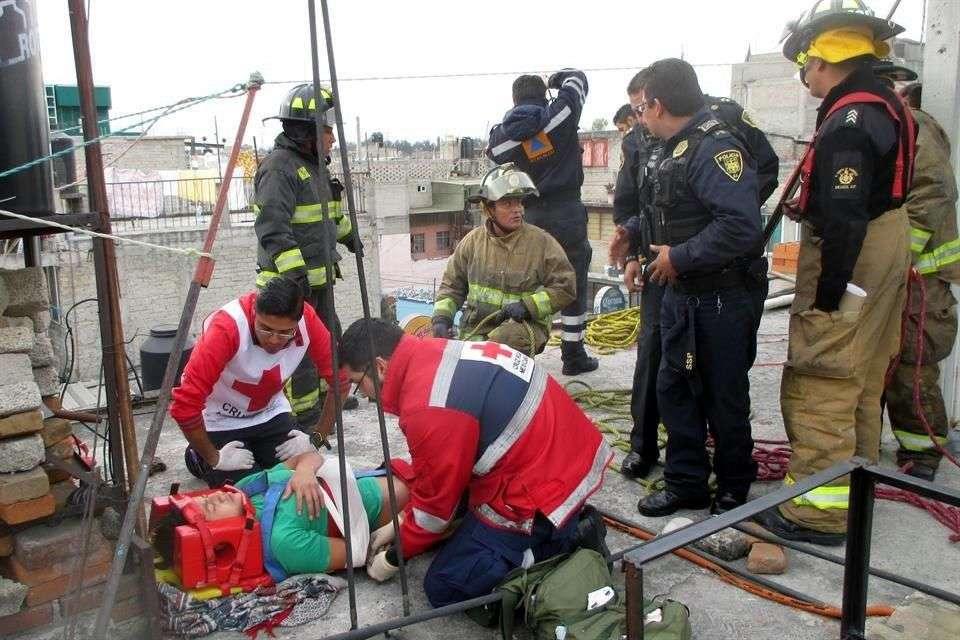 El menor fue llevado al hospital Rubén Leñero Foto: Salvador Chávez/Reforma