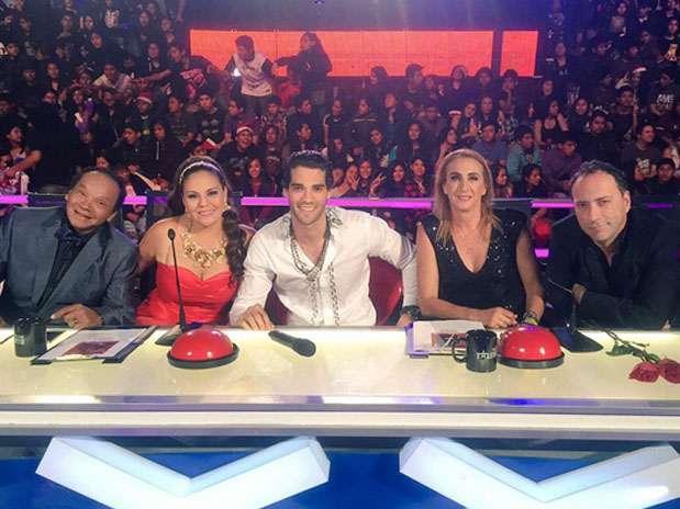 """Guty Carrera en """"Perú Tiene Talento"""". Foto: Twitter"""