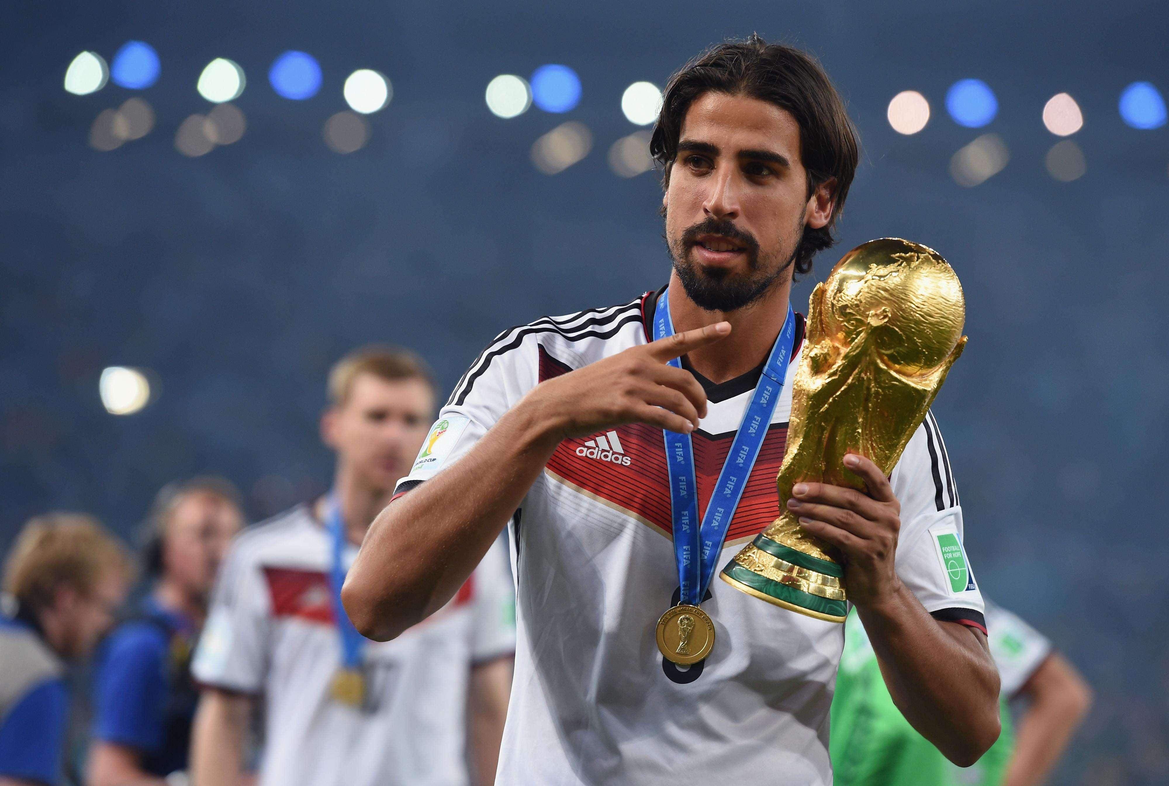 Khedira conquistó el Mundial con Alemania. Foto: Getty Images