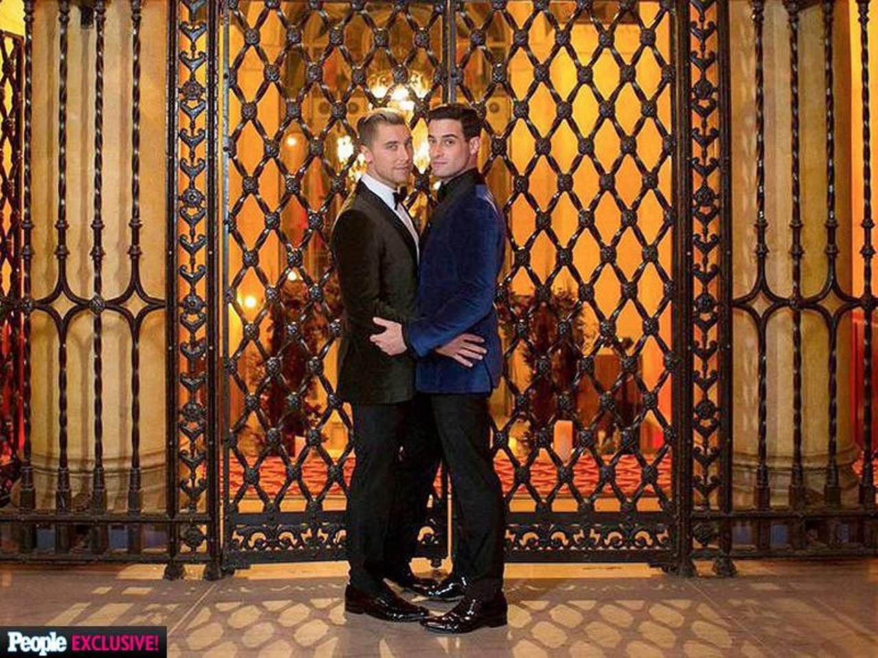 Lance Bass y Michael Turchin se comprometieron en matrimonio en 2013. Foto: Facebook / Lance Bass