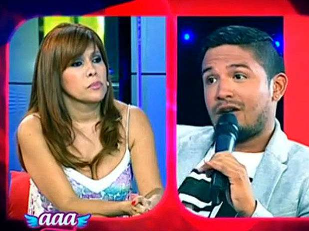 Magaly Medina entrevistó a Reimond Manco. Foto: Captura de video