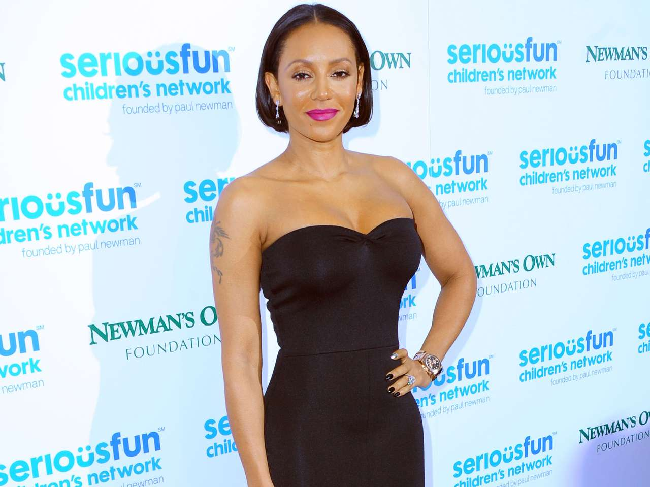Melanie Brown se separó recientemente de su esposo. Foto: Getty Images