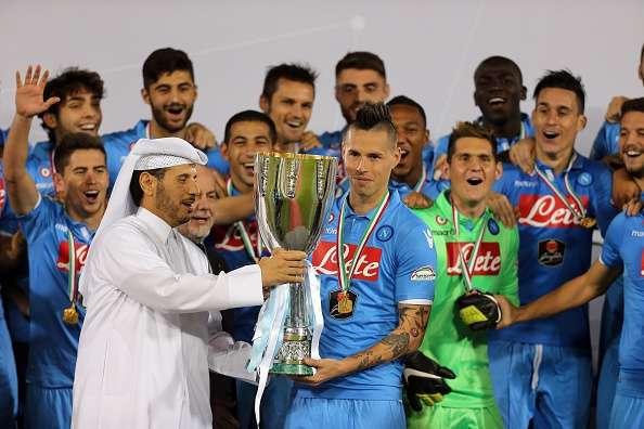 Napoli gana la Supercopa de Italia. Foto: AFP