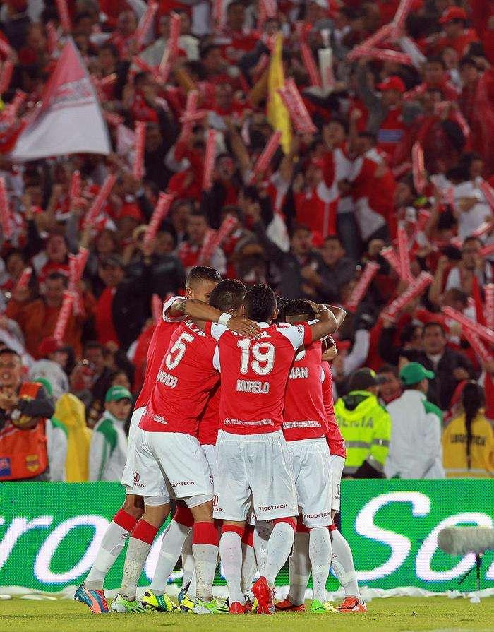 Santa Fe jugará Libertadores por tercera vez consecutiva. Foto: EFE en español