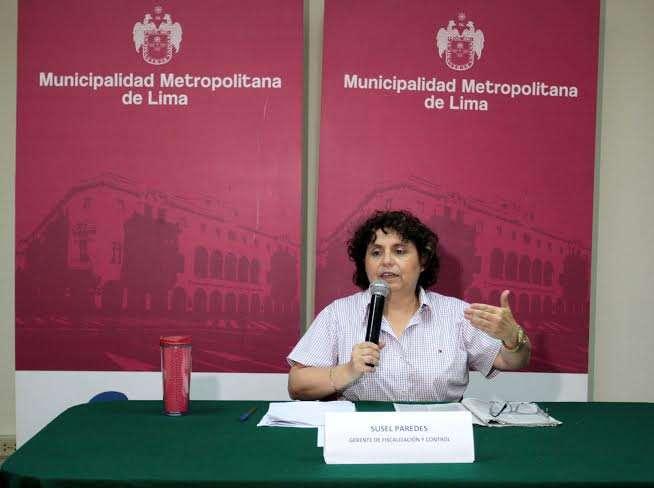 Susel Paredes Foto: Municipalidad de Lima