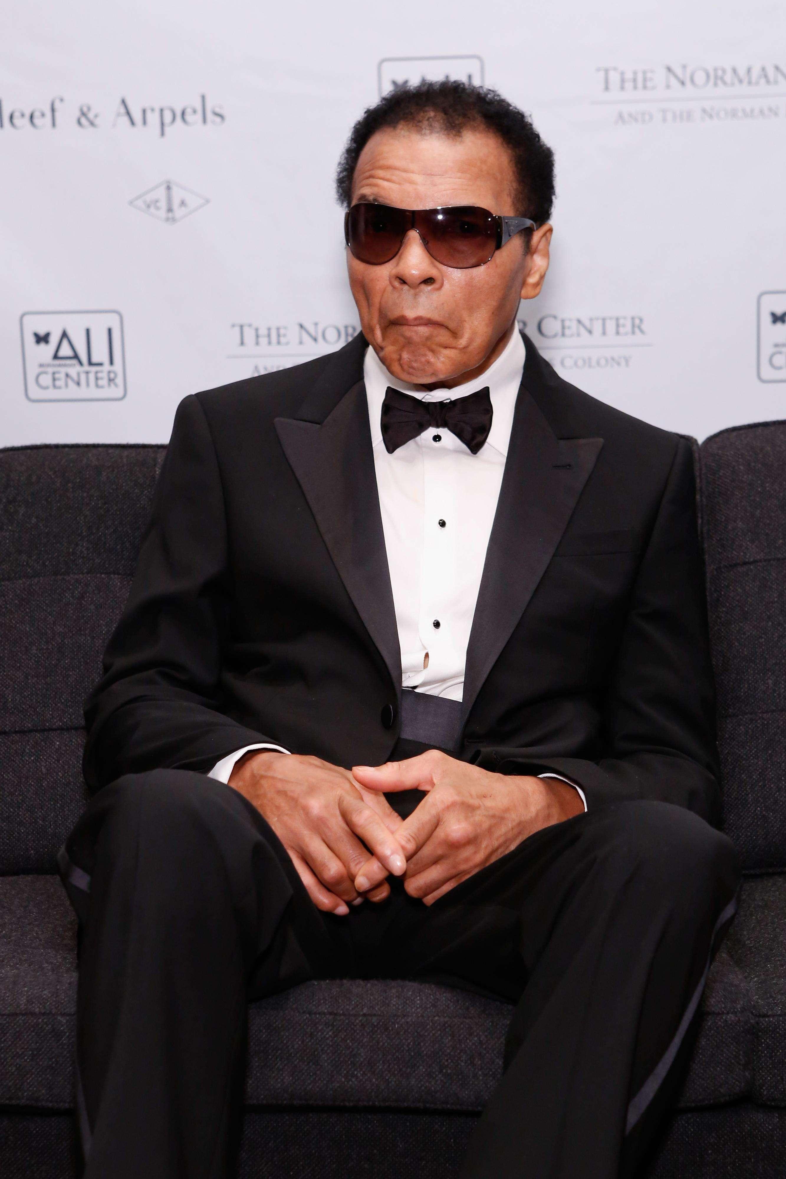 Muhammad Ali muestra una mejoría considerable tras su hospitalización Foto: Gettyimages