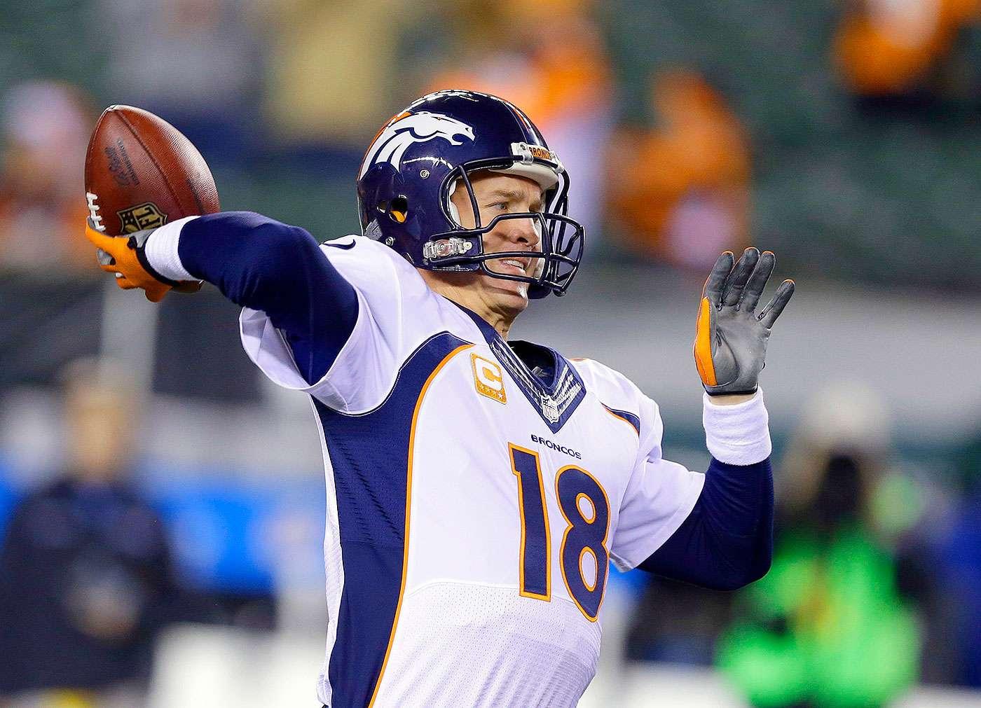 Dre Kirkpatrick interceptó un pase de Peyton Manning y se llevó el balón hasta la zona prometida, para que los Cincinnati Bengals doblegaran por 37-28 a los Denver Broncos y se embolsaran su boleto a los playoffs de la NFL. Foto: AP