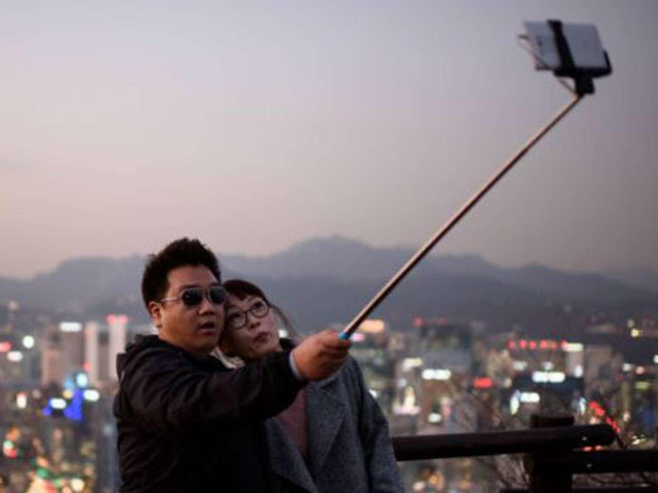 ¿Es esto un selfie, un couplie o un usie? Foto: Getty Images