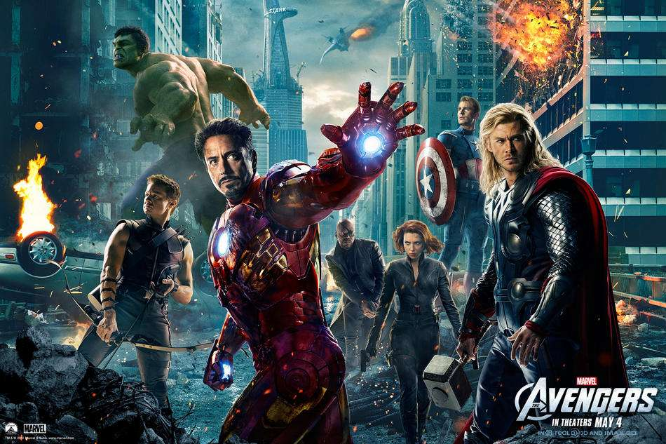 'The Avengers'. Foto: Paramount Pictures/Marvel Studios
