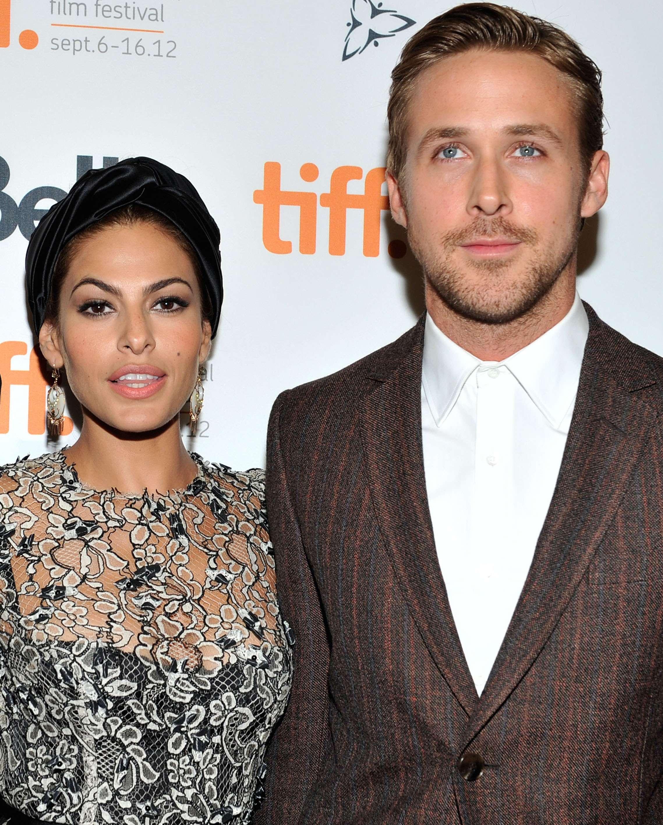 Eva Mendes y Ryan Gosling tienen una hija en común. Foto: Getty Images