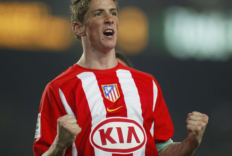 Fernando Torres surgiu brilhando pelo Atlético Foto: Luis Bagu/Getty Images