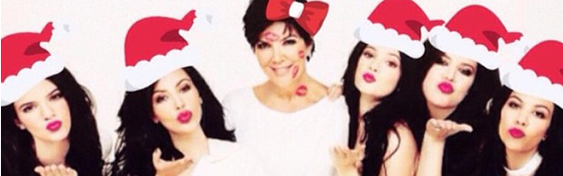 navidad kris jenner Foto: Instagram / Kris Jenner