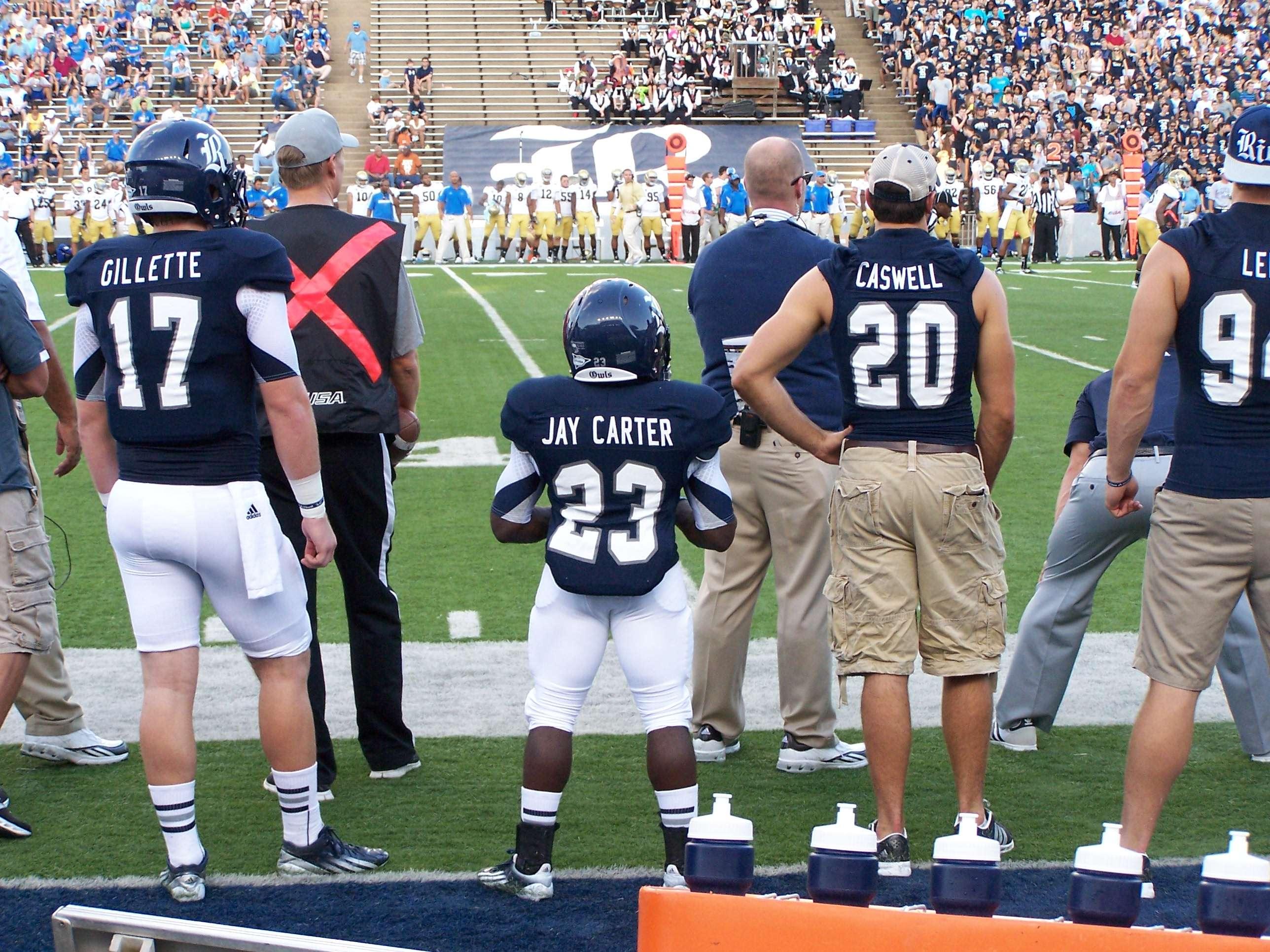 Jay Carter, toda una sensación en la NCAA Foto: Divulgación internet