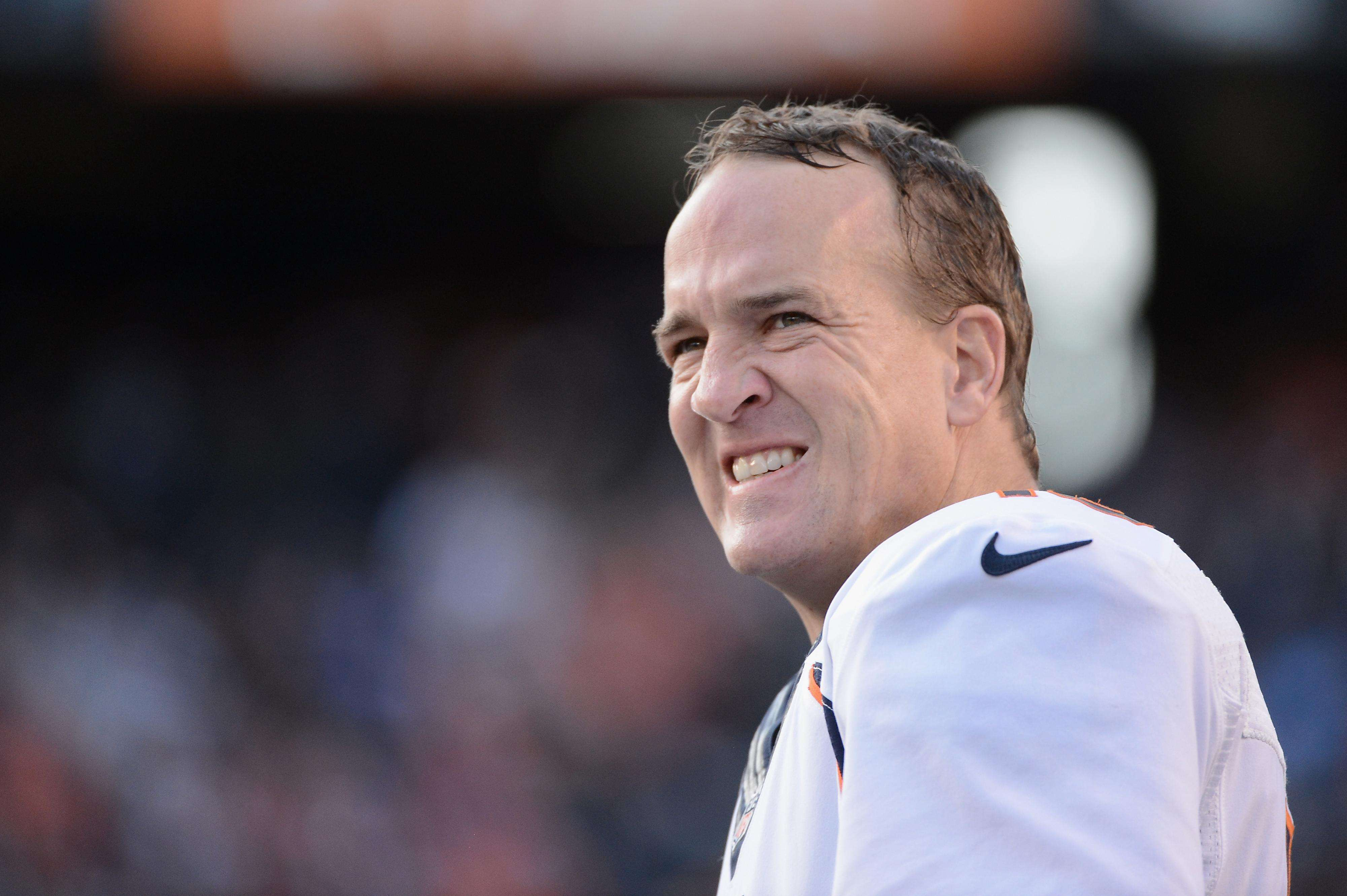 Peyton Manning tiene 38 años de edad Foto: Gettyimages