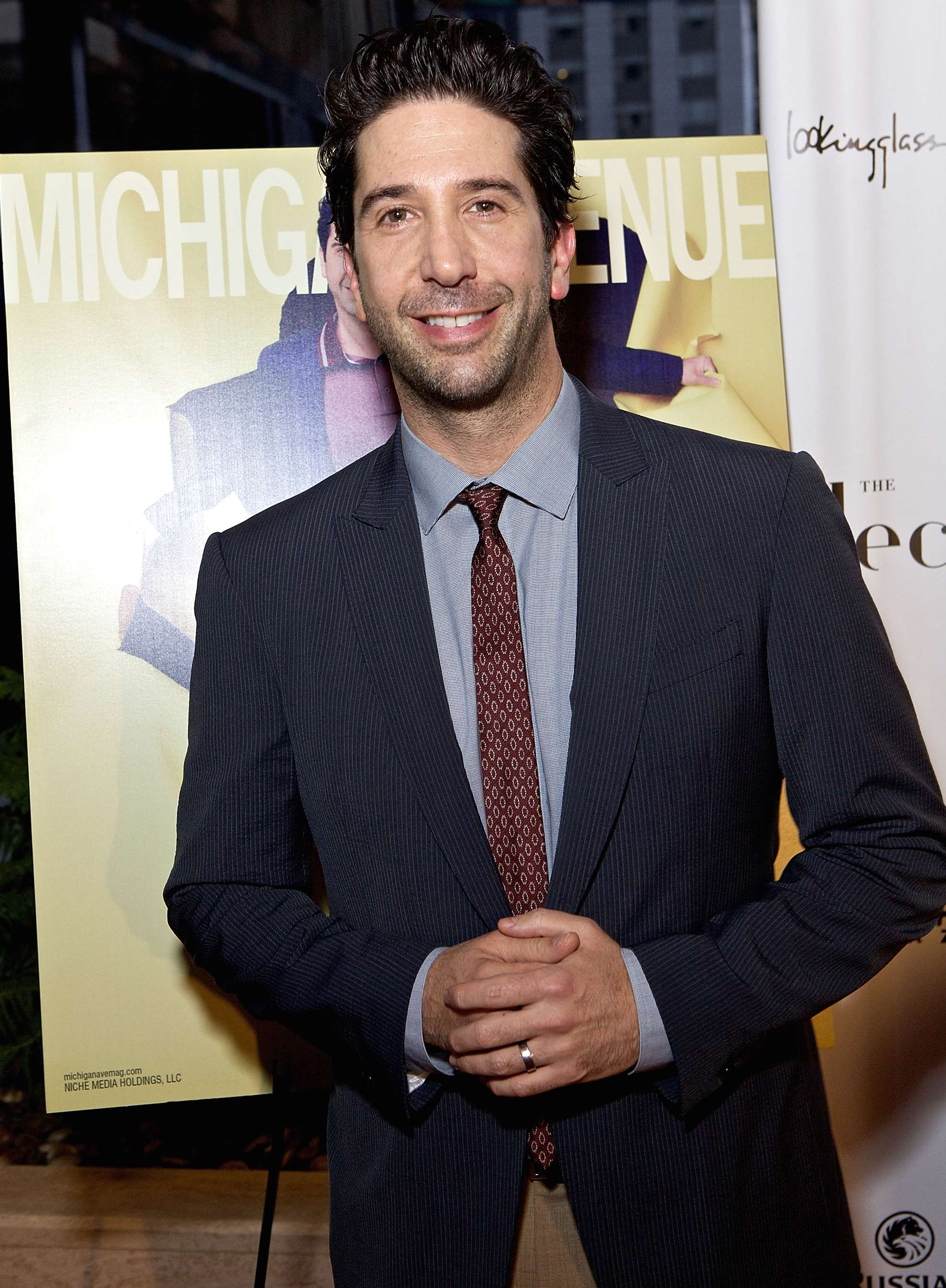 David Schwimmer interpretará a Robert Kardashian en la serie American Crime Story: The People vs. O.J. Simpson'. Foto: Getty Images