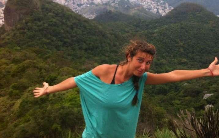 Fotos da jovem no Brasil podem ser vistas em sua página no Facebook Foto: Facebook/Reprodução
