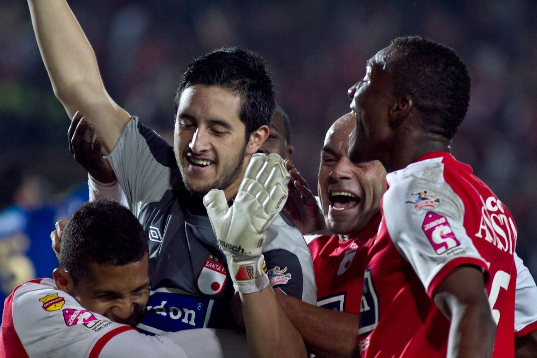 Camilo Vargas hizo un gol a Millonarios. Foto: Terra