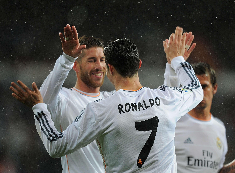 Sergio Ramos y Cristiano Ronaldo. Foto: Getty Images