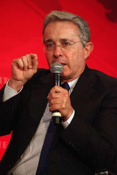 Álvaro Uribe Foto: Getty Images